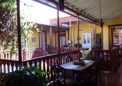 Colonial Guesthouse in Sao Filipe - Atrium